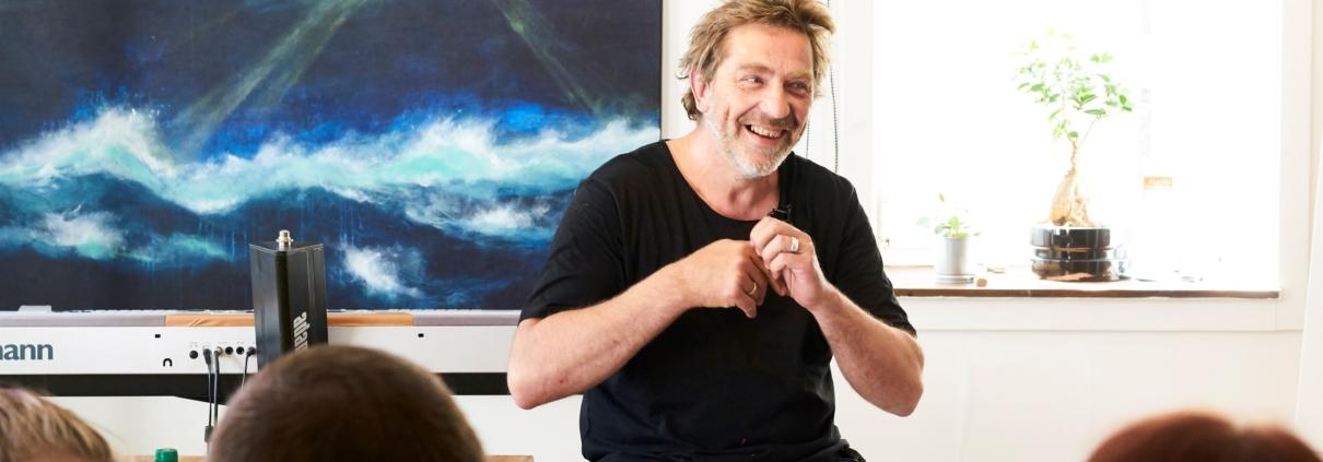 En inspirerende eftermiddag med Carsten Dahl