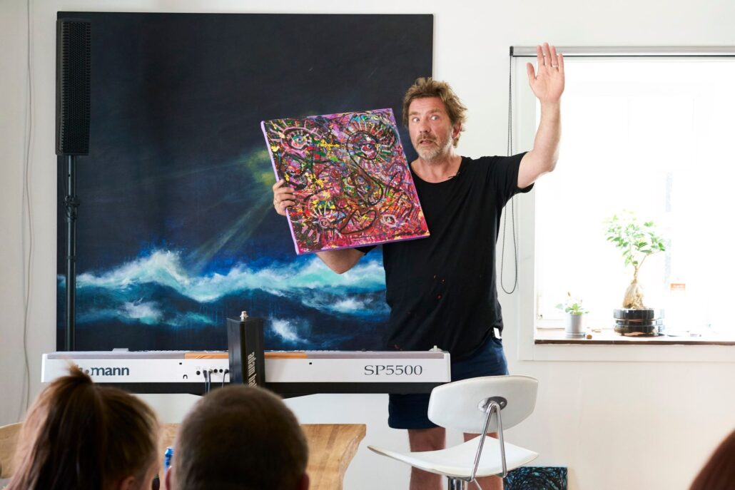 Carsten Dahl - maleri og autisme